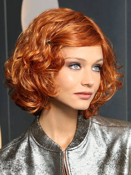 Cheveux courts Modern Curl