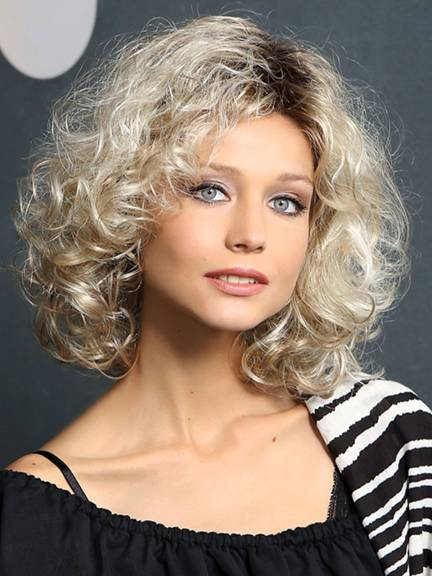 Cheveux courts Modern Curl Long