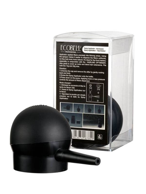 Spray Applicateur Ecobell pour vaporiser la poudre de cheveux
