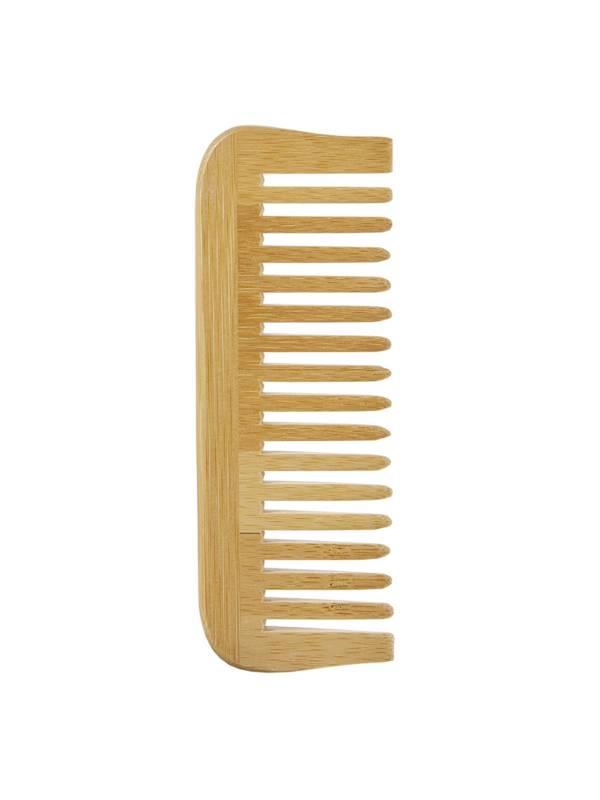 Peigne en bambou large