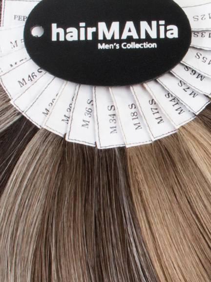Nuancier de Couleurs Cheveux synthétiques Spécial Hommes
