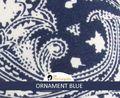 Tala ornament blue
