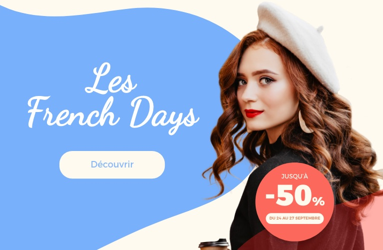 Profitez de nos offres French Days de la rentrée !